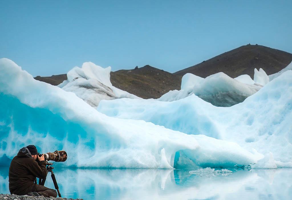 El Foton 2015. Aventura.  Octavo Puesto. Mario Pereda Islandia - El Reino de los Hielos - Tomada en Lago Jökulsárlón el 09/07/2013