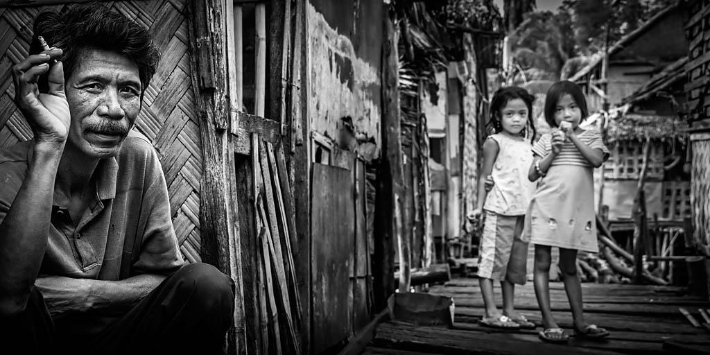 Categoría Reportaje. Quinto Puesto.  Mario Pereda. Filipinas - Bajo el signo de la Miseria- Tomada en Tondo, Manila el 13/03/2009
