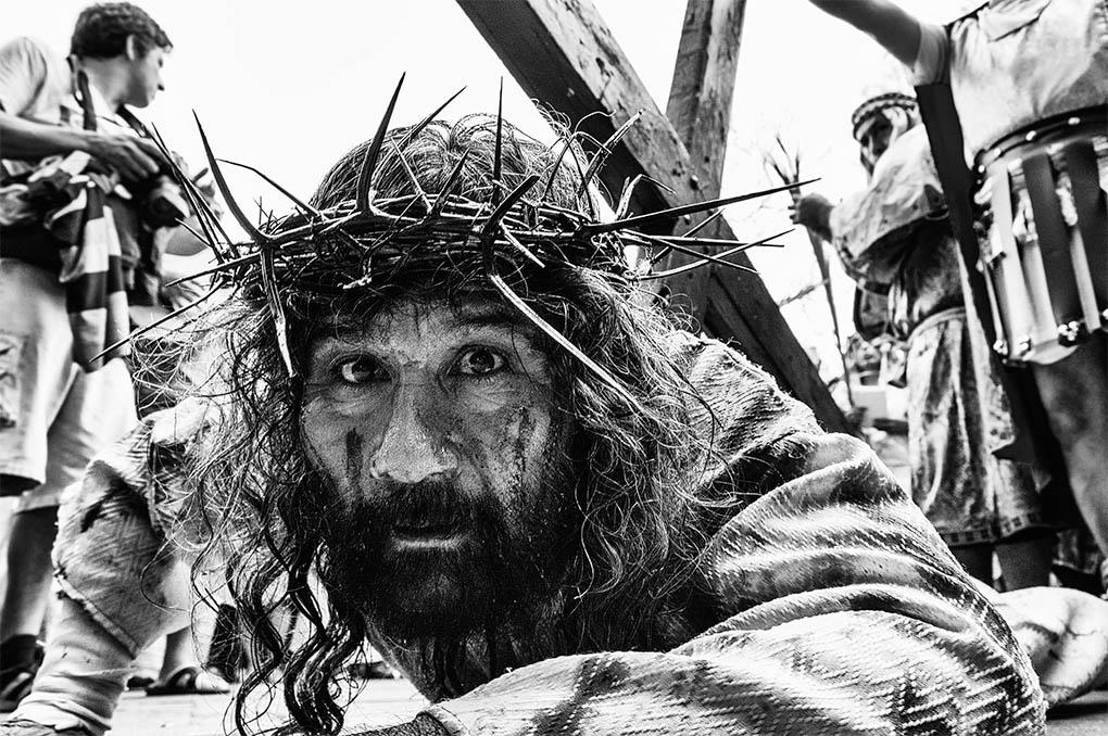 """CategoríaRetrato Humano. Sexto Puesto Alex (Perú) - """"Cristo Cholo"""" - Tomada en Lima el 18/04/2014"""