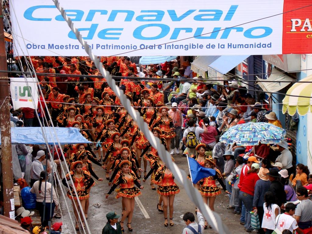 El Fotón 2015. Categoría Reportaje. Sexto Puesto. Pablo García Moreira. Bolivia. El Carnaval de Oruro.